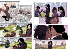Finally something that many fans of 'Legend of Korra' were waiting for :) Comic 'Legendof Korra - Turf Wars, Part One is out !!!