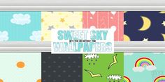 Sweet Sky Wallpapers at Onyx Sims via Sims 4 Updates