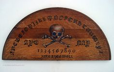 Hand Painted Spirit Board