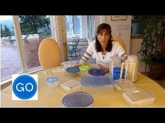 Our quick video on how to organize your plastic kitchen containers.