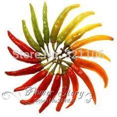 Бесплатная доставка, 50 семейной реликвии серрано перец чили семена, быстрые, интересныйкупить в магазине Flower StoryнаAliExpress