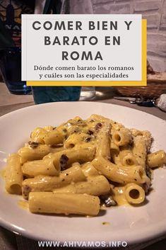 Lugares buenos y baratos para comer en Roma - Breezy Tutorial and Ideas Pizza De Prosciutto, Koh Tao, Tarot, Traveling, Food, Gastronomia, Viajes, Spanish Food, Candy Pizza