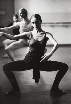 Pina Bausch at Barre
