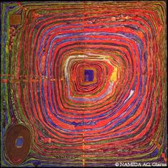 Friedensreich Hundertwasser. THE BIG WAY, 1955