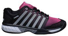 Even those that aren't a fan of a black shoe will fall in love with these! - K-Swiss Hypercourt Express Women's Tennis Shoe (021), $104.99 (http://www.towpathtennisshop.com/k-swiss-hypercourt-express-womens-tennis-shoe-021/)