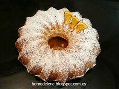 BIZCOCHO DE NARANJA Y CARDAMOMO. Delicioso y muy fácil de hacer, para desayunos y meriendas de 10!!