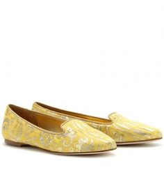 Dolce & Gabbana Jacquard Slipperstyle Loafers