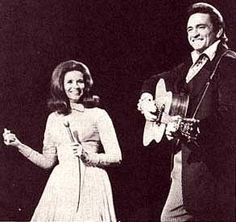 June Carter and Johnny Cash