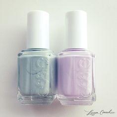 left: maximillion strasse, right: go ginza {love them both!} #polish