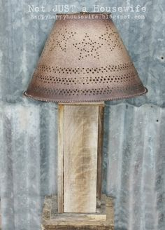 Barn Wood Lamp   Not JUST A Housewife