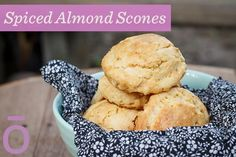 doTERRA Delicious Spiced Almond Scones with Cassia essential oil