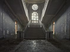 An abandoned hospital in Italy  Shot with Mamiya 645DF+ Body & Leaf Credo 80 Digital Back, Schneider Kreuznach 28mm f4.5 LS Lens  Using 3LeggedThing Frank & Lowepro Protactic 450.  Rebecca Bathory Photography
