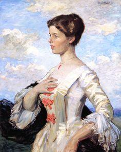 The Athenaeum - Portrait of Mrs. Gari Melchers (Gari Melchers - )
