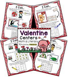 FREE Valentine Centers!!