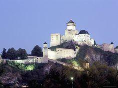 Trencin, Castle, Slovakia