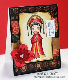Sparkle Smith: {Chinese New Year Blog Hop} 2013 Year of the Snake and Chinese New Year Rin Card