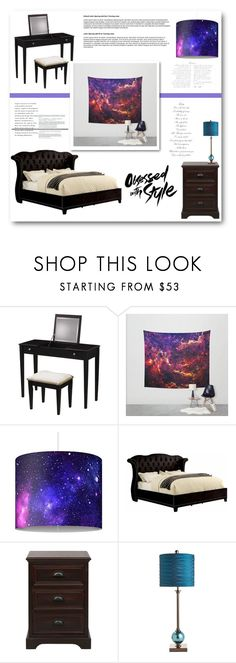 """""""LaChicHomeDecor 9"""" by belmina-v ❤ liked on Polyvore featuring interior, interiors, interior design, home, home decor, interior decorating, Coaster and Pier 1 Imports"""