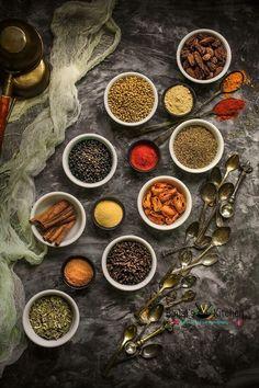 Homemade Tandoori Masala - Binjal's VEG Kitchen The Effective Pictures We Offer You About Kerala foo Chef Taico, Tandoori Masala, Garam Masala, Dark Food Photography, Food Menu Design, Photographie Portrait Inspiration, Veg Dishes, Indian Food Recipes, Healthy Recipes