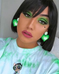 Powerpuff Girls Makeup, Fantasy Makeup, Halloween Makeup, Spices, Product Launch, Make Up, Skin Care, Face, Beauty
