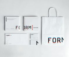 stationery / FORFORM by ZUPAGRAFIKA
