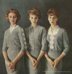 Knitwear advertisement, 1950's