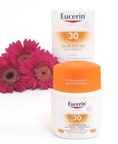 Mattierende Sonnencreme fürs Gesicht: Eucerin Sun Fluid.