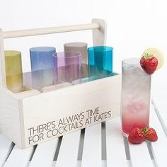 LSA Coloured Cocktail Highball Trug