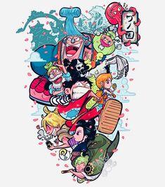 One Piece Crew, Zoro One Piece, One Piece Fanart, One Piece Anime, Anime One, Art Anime, Anime Manga, One Piece Wallpaper Iphone, One Piece Tattoos