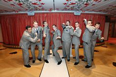 Groomsmen Cruise Ship Wedding, Groomsmen
