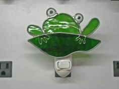 Froggy Night light - Stained Glass Nightlight