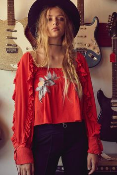 Shop our Ginger Babe Top at Free People.com. Share style pics with FP Me, and read & post reviews. Free shipping worldwide - see site for details.