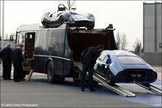 Classic Ecurie Ecosse transporter