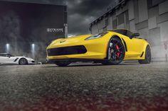 Chevrolet Corvette Z06 on Strasse Wheels.