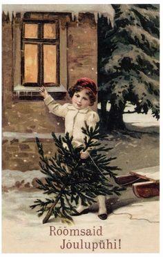 .Christmas Postcard