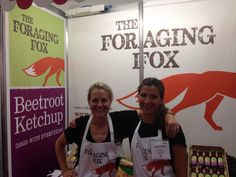 Me & Des manning the stall at SFFF14