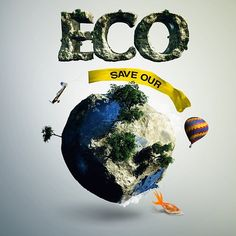What are you doing to save the planet? via climate action Save Mother Earth, Save Our Earth, Save The Planet, Green Environment, Climate Action, Earth Day, Go Green, Global Warming, Change The World