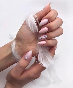 inspiring nail art 2020 nails acrylic summer 2020 Inspiring 2020 yellow nail art art designs summer nail artist near me Light Pink Acrylic Nails, Pastel Pink Nails, Cute Pink Nails, Cute Gel Nails, Edgy Nails, Grunge Nails, Oval Nails, Purple Nails, Stylish Nails