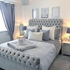 That will motivate you inspirational grey bedroom ideas ultra modern 13 … – Bedroom Inspirations Grey Bedroom Design, Grey Bedroom Decor, Stylish Bedroom, Room Ideas Bedroom, Small Room Bedroom, Modern Bedroom, Bedroom Designs, Small Rooms, Couple Bedroom