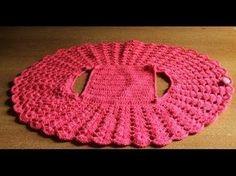 Bolero Croche Infantil parte 1 -Crochet Bolero very easy - Ganchillo Bolero Gilet Crochet, Crochet Jacket, Crochet Scarves, Crochet Clothes, Knit Crochet, Crochet Shrugs, Crochet Sweaters, Crochet Circles, Crochet Round