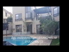 Katameya Heights Villa For Rent New Cairo Egypt, Real Estate