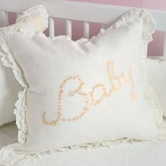 Baby handmade pillow