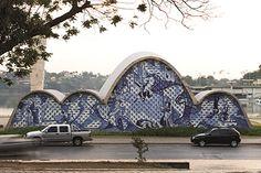オスカー・ニーマイヤー展 《サン・フランシスコ・デ・アシス教会》 Photo: Leonardo Finotti