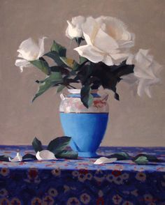 """Laurie Kersey. """"The Antique Vase"""""""