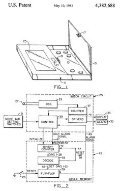 Don't Forget to Take That Pill! Patent Inventions That Can Help // Timed birthcontrol pill dispenser