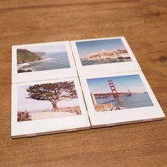 Instagram-Untersetzer | 41 selbstgebastelte Geschenke, die Du am Liebsten behalten willst
