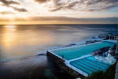 Bondi Icebergs Before and after