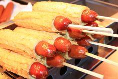 Eomuk bak(Hot Bar) - Korean Street food | All That Korea Cute Food, I Love Food, Yummy Food, Korean Street Food, Korean Food, Weird Food, Tasty Bites, World Recipes, What To Cook