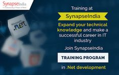 SynapseIndia Training facility in Noida helps B.Tech. and MCA students: Join SynapseIndia Trainings and learn from Industr...
