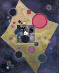 Accent en Rose 1926 by Wassily Kandinsky