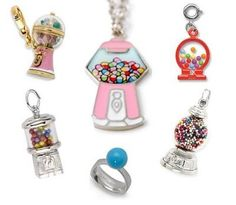 bubble gumball machine Charms